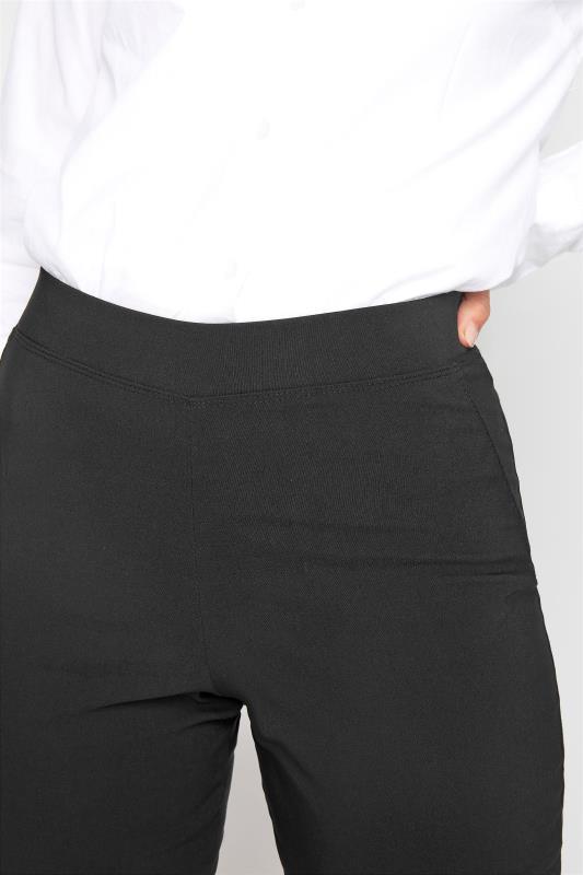 LTS Black Stretch Bootcut Trousers_D.jpg