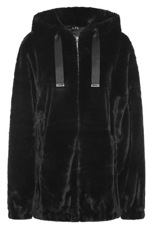 LTS Black Oversized Faux Fur Jacket_F.jpg