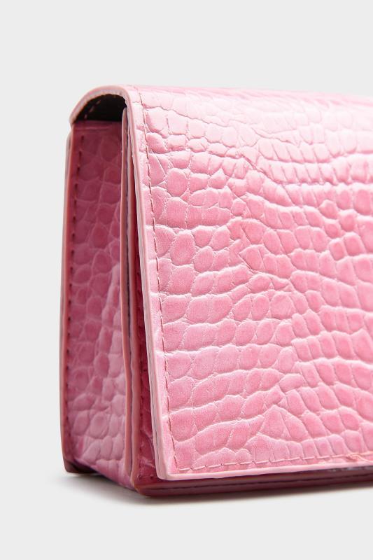 Hot Pink Croc Chain Crossbody Bag_D.jpg