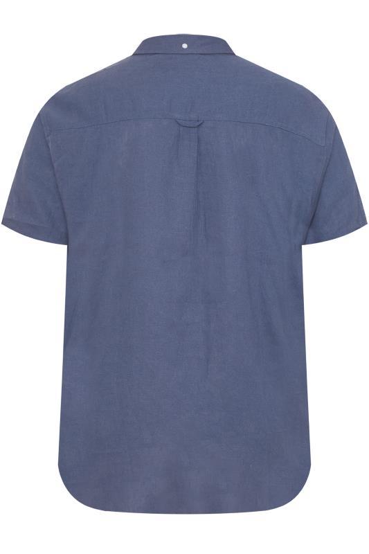BadRhino Blue Linen Shirt