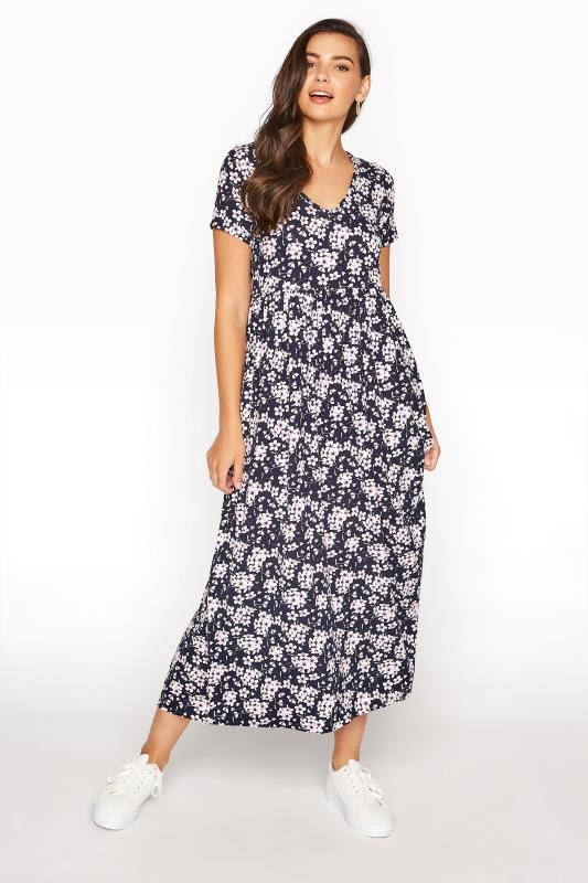 LTS Black Floral Print Midi Dress_A.jpg