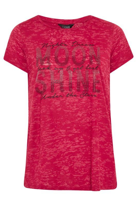 Red 'Moon Shine' Embellished T-Shirt_F.jpg