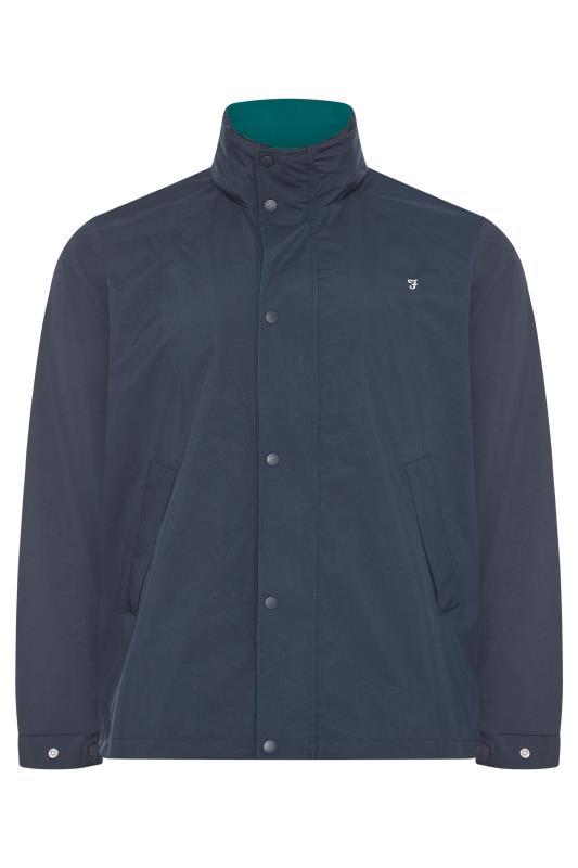 Men's  FARAH Navy Falkirk Anorak Jacket