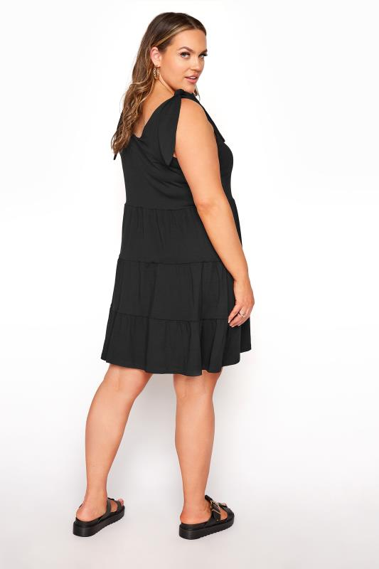 LIMITED COLLECTION Black Tiered Jersey Dress_C.jpg