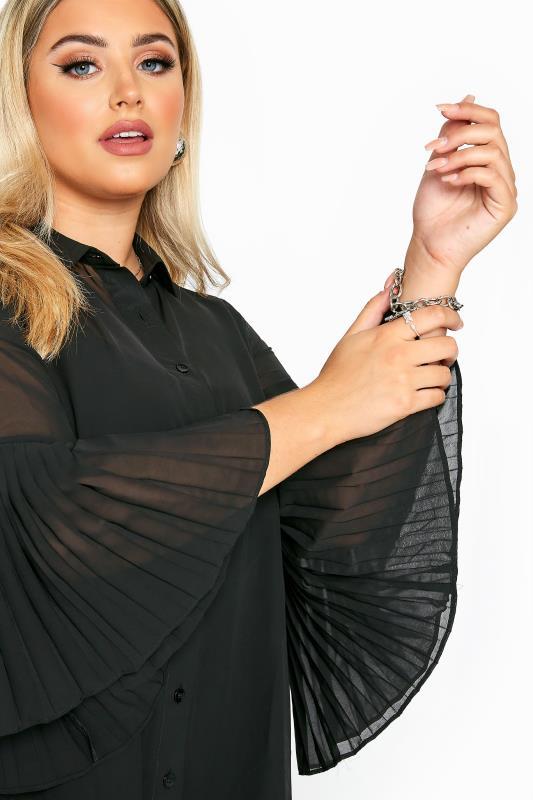 Black Pleated Longline Shirt_D.jpg