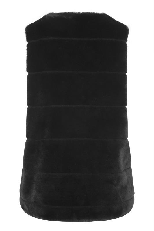 Black Pelted Faux Fur Gilet_BK.jpg