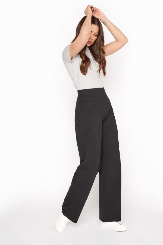 Black Wide Leg Yoga Pants