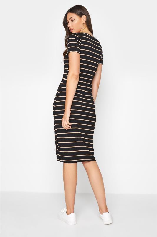 LTS Black Stripe Ribbed Dress_C.jpg