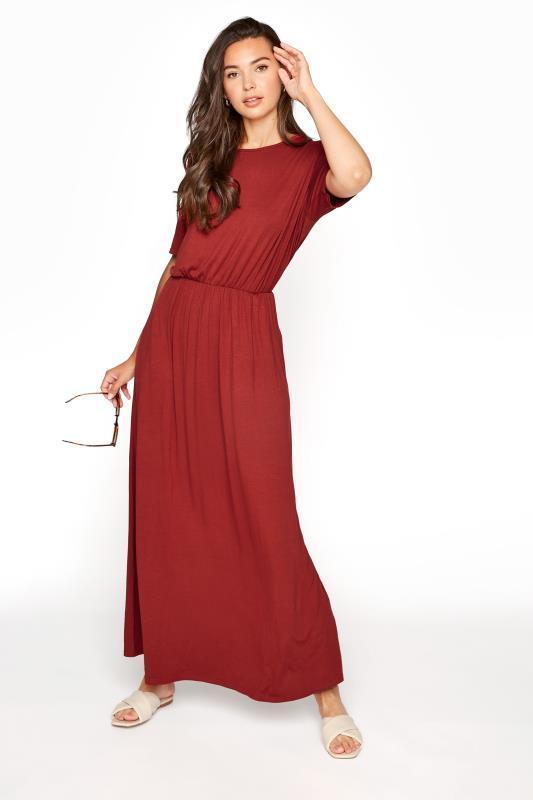 LTS Burgundy Pocket Midaxi Dress_A.jpg
