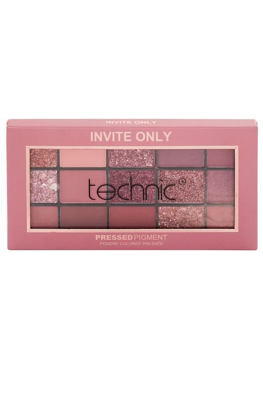 Plus Size  Technic Invite Only Pressed Pigment Palette