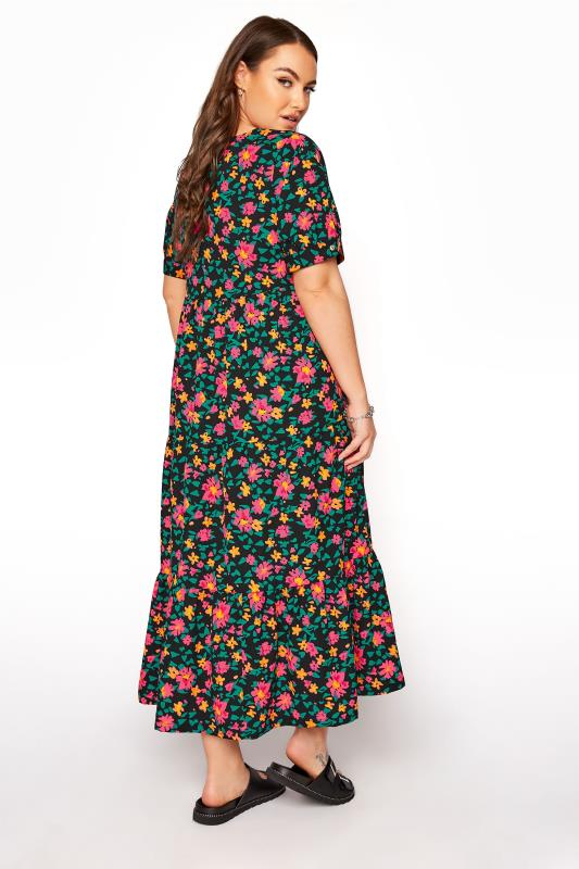 LIMITED COLLECTION Black Floral Tiered Maxi Dress_C.jpg