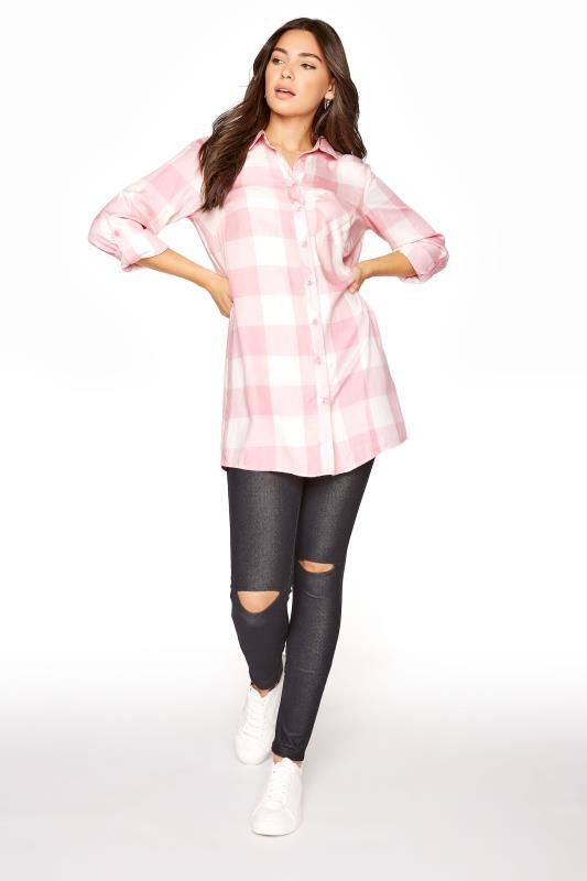 LTS Pink Check Boyfriend Shirt_B.jpg