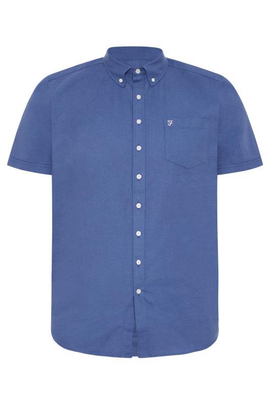 Men's  FARAH Navy Shirt