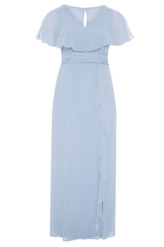 Light Blue Angel Sleeve Maxi Dress_F.jpg