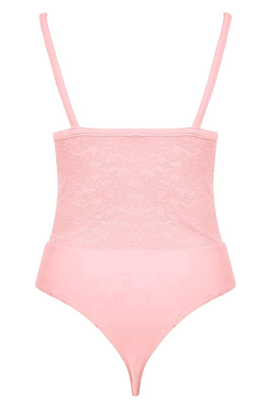 LIMITED COLLECTION Pink Lace Bodysuit_BK.jpg