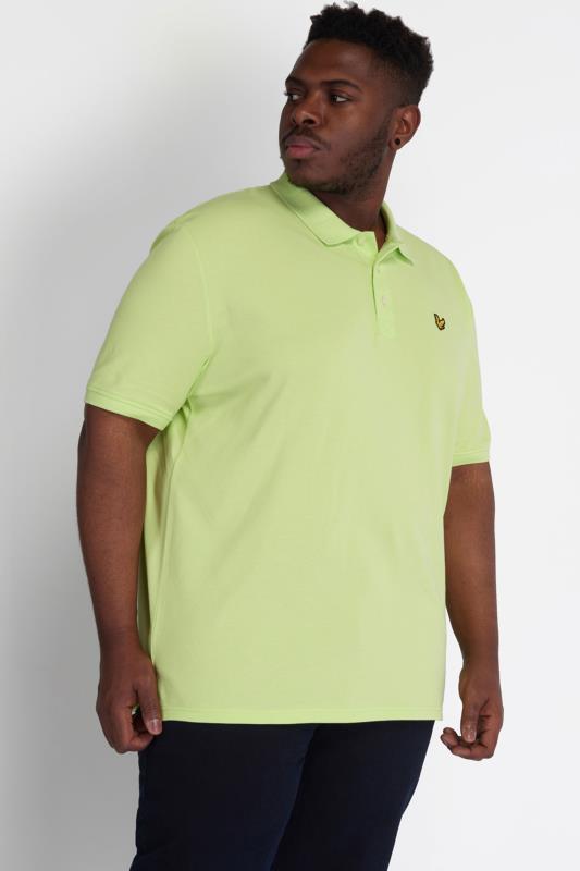 LYLE & SCOTT Light Green Polo Shirt