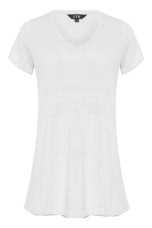 LTS White V-Neck T-Shirt_F.jpg