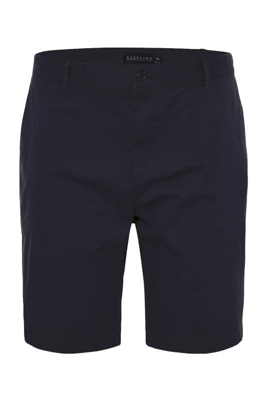 Men's  BadRhino Navy Stretch Chino Shorts