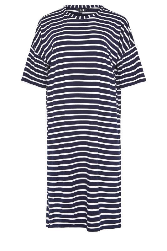 LTS Navy Stripe T-Shirt Dress_f.jpg