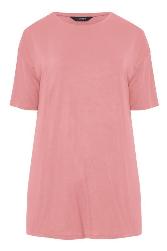 Rose Pink Oversized T-Shirt_F.jpg
