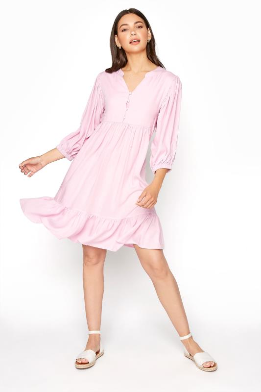 LTS Pink Tiered Tunic