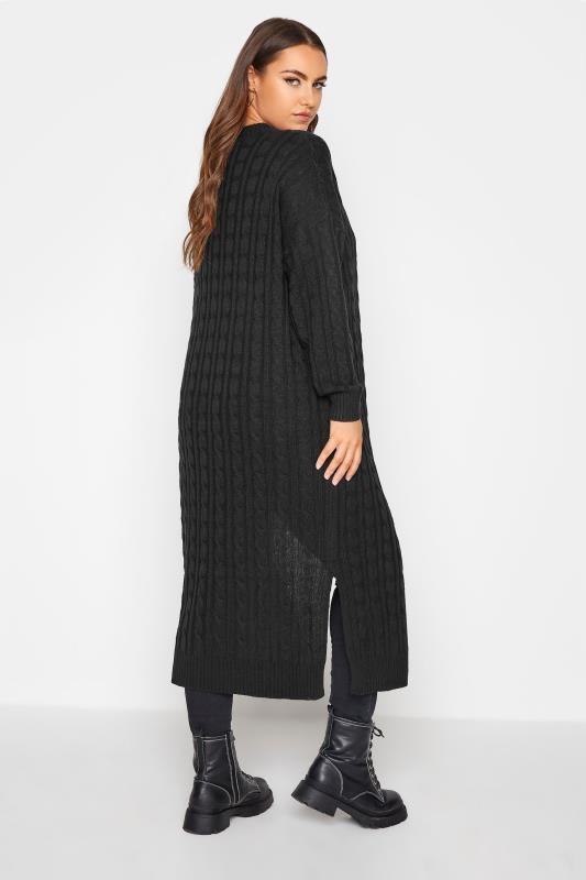 Black Cable Knitted Maxi Cardigan_C.jpg