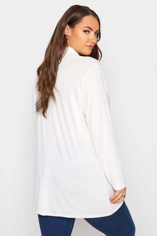 LIMITED COLLECTION White Turtle Neck Top_C.jpg