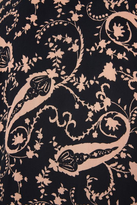 THE LIMITED EDIT Black Paisley Boho Maxi Dress_S.jpg