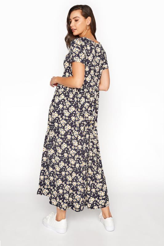 LTS Black Daisy Print Midi Dress_C.jpg