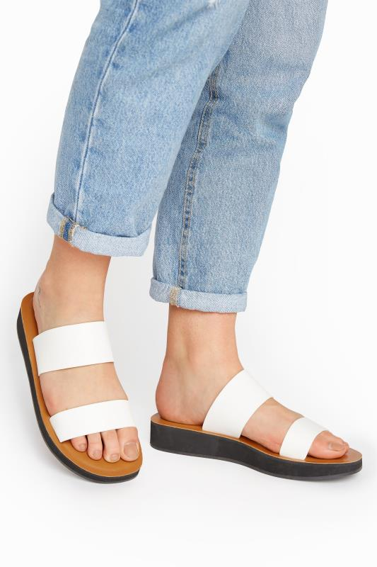 LTS White Two Strap Flat Sandals_M.jpg