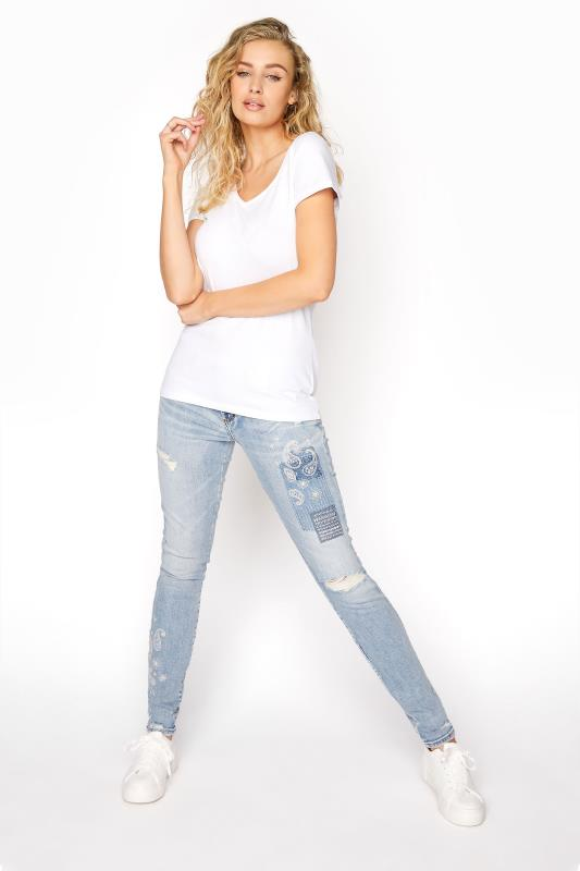 Tall Jeans SILVER JEANS Light Blue Aiko Skinny Jeans
