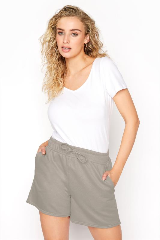 Tall  LTS Khaki Jersey Sweat Short
