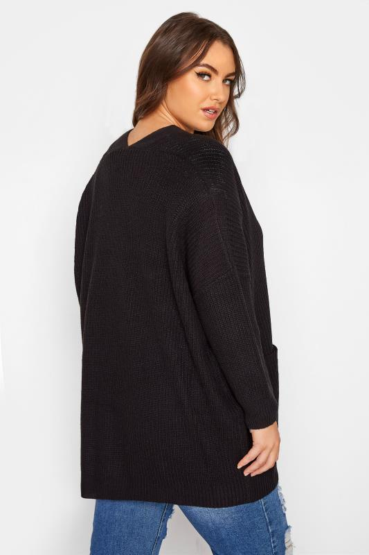 Black Button Knitted Cardigan_C.jpg