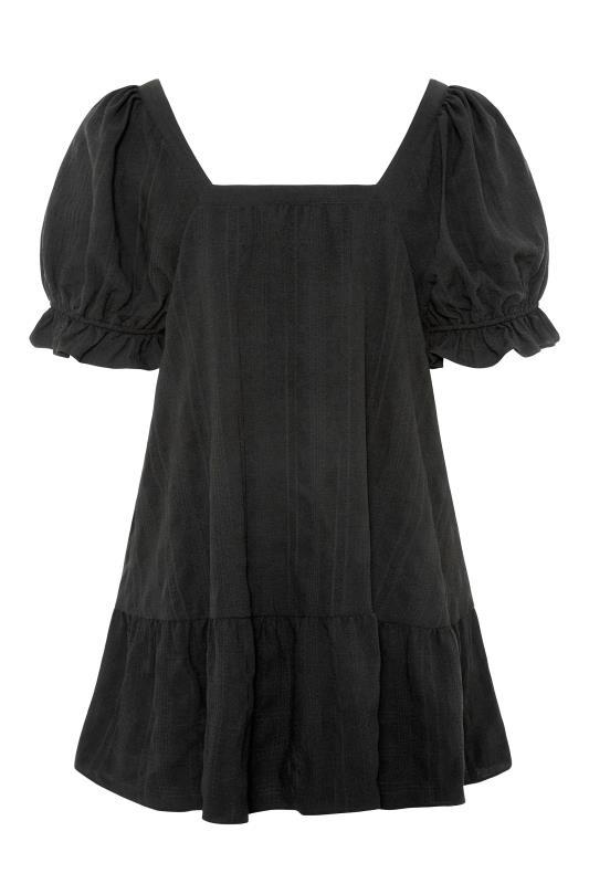 THE LIMITED EDIT Black Puff Sleeve Tunic_BK.jpg