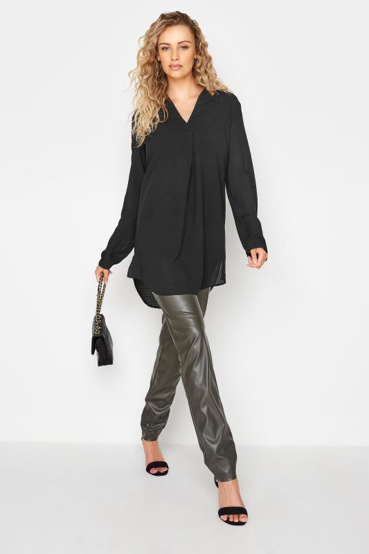 LTS Black Textured Overhead Shirt_B.jpg