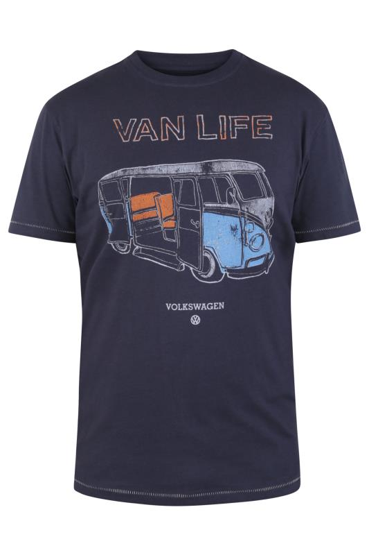 Plus Size  D555 Navy Official Volkswagen T-Shirt