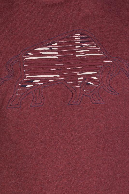 RAGING BULL Red Slash Bull T-Shirt_D.jpg