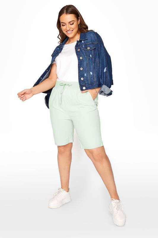 Mint Green Cool Cotton Shorts_B.jpg