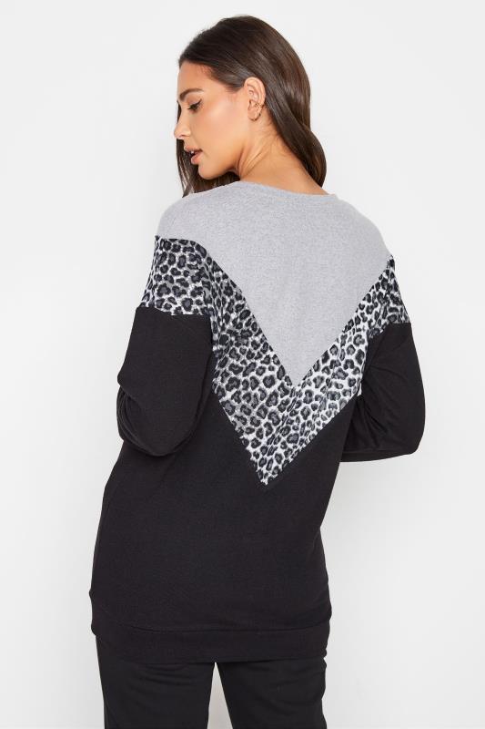 LTS Grey & Black Colour Block Soft Touch Top_C.jpg