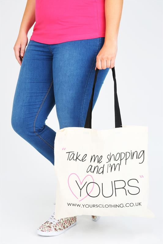 Bags & Purses Yours Clothing Shopper Canvas Bag