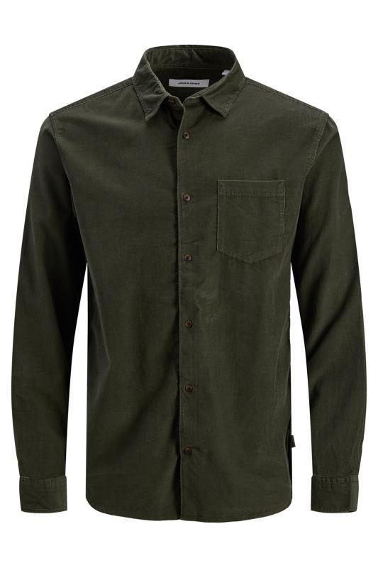Men's  JACK & JONES Khaki Cord Kendrick Shirt