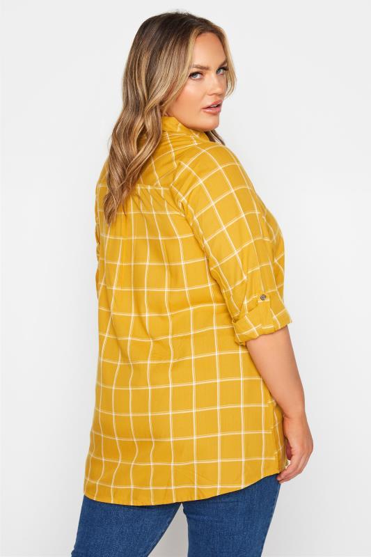 Mustard Yellow Overhead Check Shirt_C.jpg