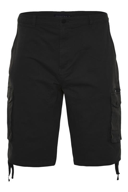 Men's  BadRhino Black Utility Cargo Shorts