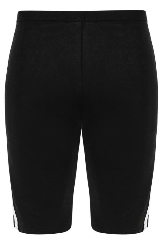 Black Side Stripe Cycle Shorts_F.jpg