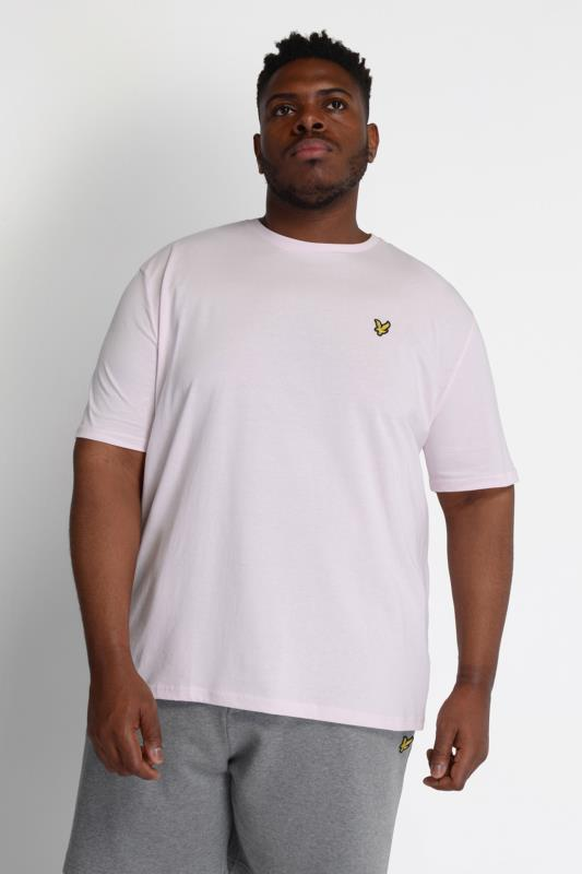 LYLE & SCOTT Rosafarbenes T-Shirt