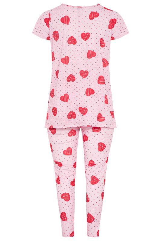 Pink Heart Spot Pyjama Set_BK.jpg