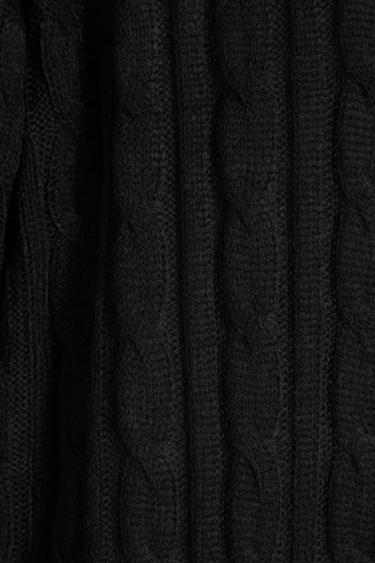 Black Cable Knitted Maxi Cardigan_S.jpg