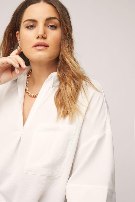THE LIMITED EDIT White Pleated Front Top_D.jpg