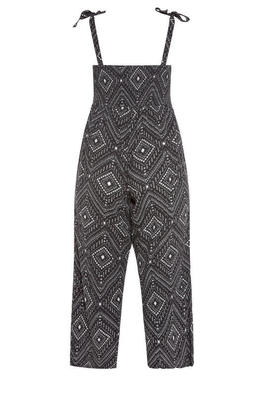 Black Aztec Shirred Bardot Jumpsuit_bk.jpg