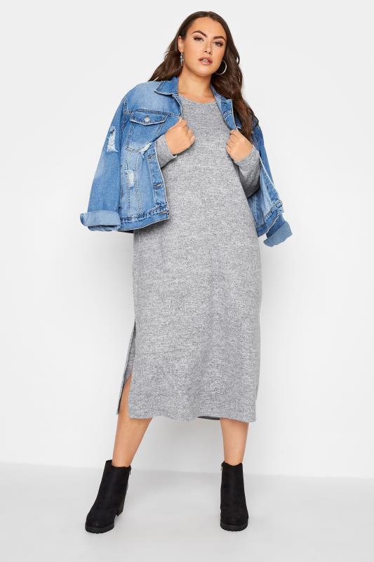 Grey Knitted Jumper Dress_B.jpg